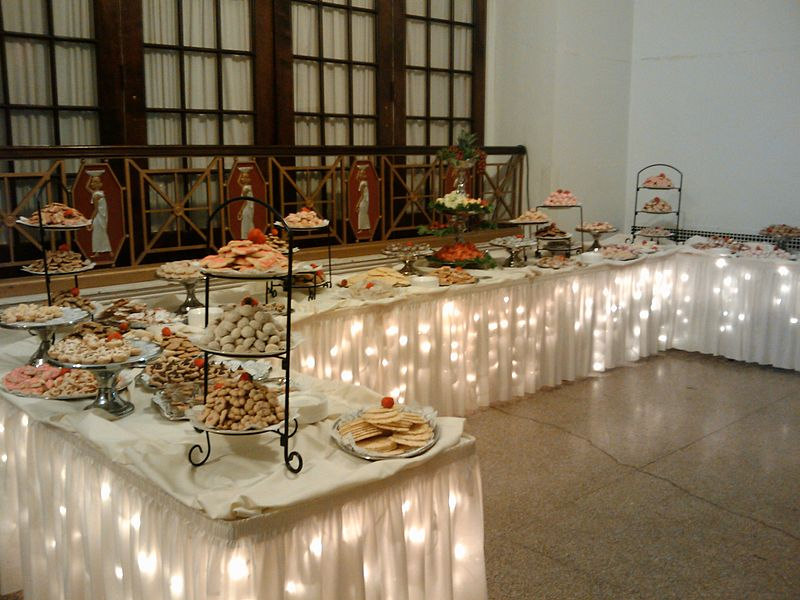The Wedding Cookie Table Aphrodites Hearth